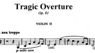 Composed in the fall of 1880 as a companion to the Academic Festival Overture.
